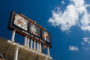 Sec Prints - Neyland Scoreboard Print by David Johnston