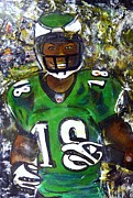 Sports Art Mixed Media - Nfl Dreams by Tony Artz