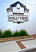 New England Patriots Posters - NFL Hall of Fame Poster by Robert Harmon
