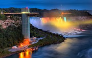 Adam Jewell - Niagara American Falls At Night