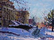 Falls Painting Originals - Niagara Arts and Cultural Center by Ylli Haruni