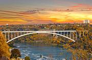 Randall Branham - Niagara Bridge and River