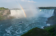 Rainbow River Photos - Niagara Fall Rainbow by James Wheeler