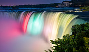 Amazing Sunset Prints - Niagara Falls Colors Print by James Wheeler