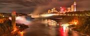 Adam Jewell - Niagara Falls Dusk Panorama