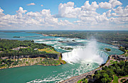 Niagara River Prints - Niagara Falls in Summer Print by Charline Xia