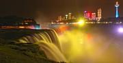 Adam Jewell - NIagara Falls In Yellow