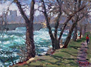 Ylli Haruni - Niagara Falls River April 2014