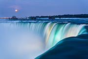 Can Prints - Niagara Falls Super Moon Print by James Wheeler