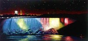 Wall Murals Painting Originals - Niagara Falls by Thomas Kolendra