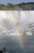 Patricia Hofmeester - Niagara Falls  with rainbow
