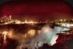 Photo-based Photo Framed Prints - Niagara Nocturne Framed Print by William Fields