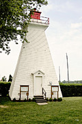 Niagara On The Lake Framed Prints - Niagara On The Lake Lighthouse Framed Print by Scott Pellegrin