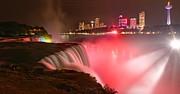Adam Jewell - Niagara Red And White Starbursts