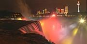 Adam Jewell - Niagara Starbursts At Night