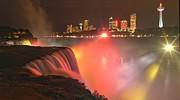 Adam Jewell - Niagara Starbursts At Night Panorama