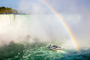 Horseshoe Falls Framed Prints - Niagaras Maid of the Mist Framed Print by Adam Pender