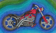 Bicycle Drawings - Nice Bike by Seth Miller
