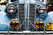 Custom Automobile Posters - Nice Headlights Poster by Merrick Imagery