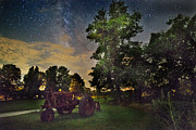 Tired Originals - Nicks Tractor and the Milky Way by William Fields