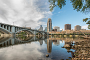 Photogaph Art - Nicollet Island Minneapolis Two by Josh Whalen