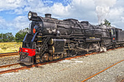 Steam Engine Photos - Nigel Bruce Locomotive New Zealand by Colin and Linda McKie