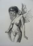 Night Angel Print by Ray Agius