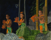 Michael Allen Wolfe - Night at the Luau