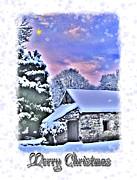 Night Before Christmas Print by Nina Ficur Feenan