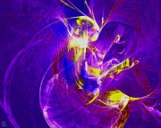 Liander Art Digital Art - Night Dancer 1 by Jeanne Liander