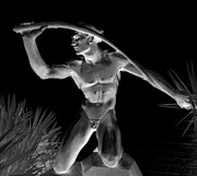 Nude Sculptures Prints - Night Harvest Print by Randall Weidner