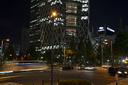 Night Scene Prints - Night in Shinjuku Print by David Bearden