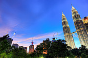 Fototrav Print - Night on Kuala Lumpur KLCC