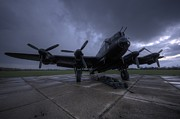Lancaster Bomber Prints - Night Ops Print by Jason Green