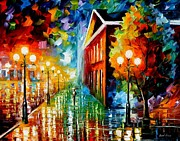 Leonid Afremov - Night Piece