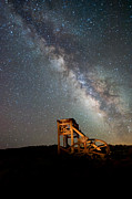 Milky Way Photos - Night Shift by Cat Connor