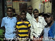 Group Portraits Originals - Night Shift Crew at Central Produce Depot by Gary Heiden