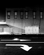 Indiana Photography Originals - Night Shot Fort Branch Indiana by John Hanou