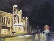 All - Night Time at Michigan Theater - Ann Arbor MI by Yoshiko Mishina