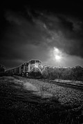 Express Photos - Night Train by Robert Frederick