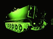 Machinery Digital Art Posters - Night Vision Poster by JFantasma Photography