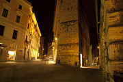 Sienna Prints - Night Walk Print by Robert Talbot