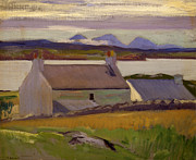 Nightfall  Iona Print by Francis Campbell Boileau Cadell