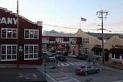 Dusky Photos - Nightfall Over Monterey Cannery Row California 5D25146 by Wingsdomain Art and Photography