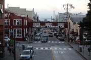 Dusky Photos - Nightfall Over Monterey Cannery Row California 5D25149 by Wingsdomain Art and Photography