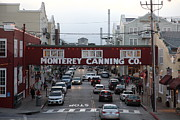 Dusky Photos - Nightfall Over Monterey Cannery Row California 5D25153 by Wingsdomain Art and Photography