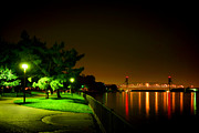 Promenade Photos - Nightime Promenade by Olivier Le Queinec
