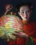 Lamp Originals - Nightingale Girl by Jane Bucci