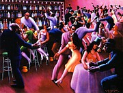 Motley Posters - Nightlife Poster by Pg Reproductions