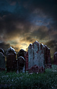 Creepy Digital Art Metal Prints - Nightmare Hill Metal Print by Svetlana Sewell